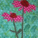 Echinacea quilt