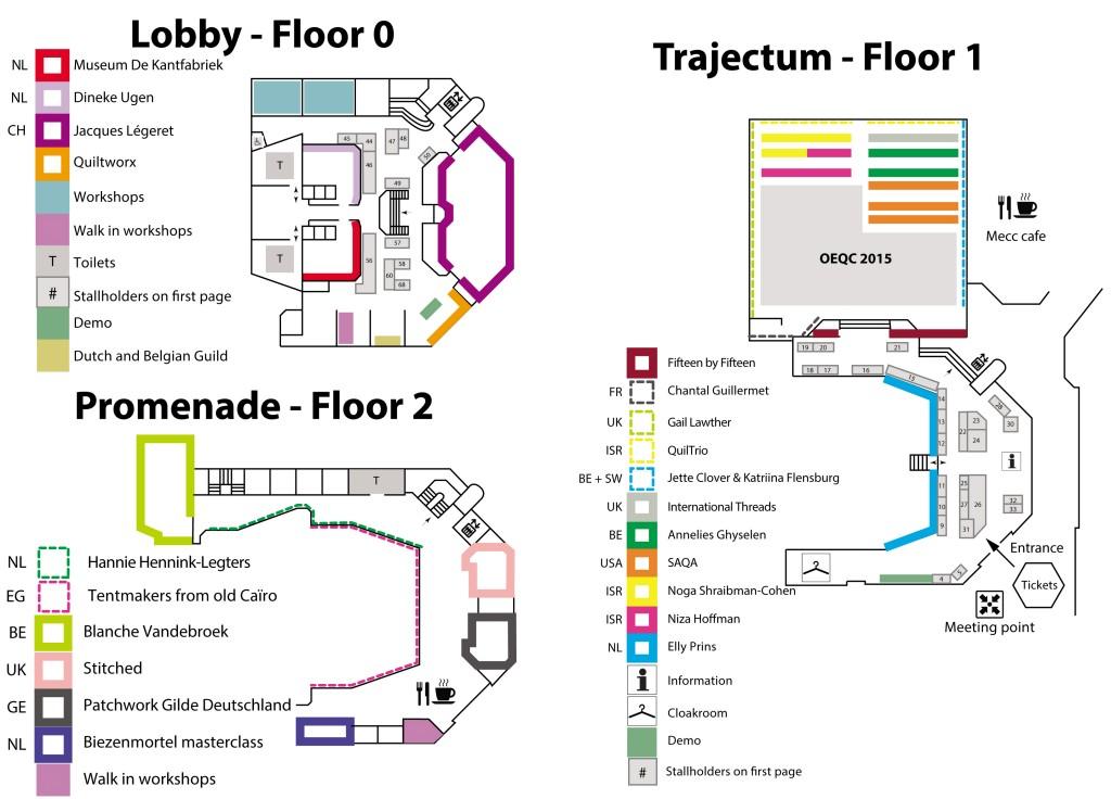 Floor plan OEQC 2015