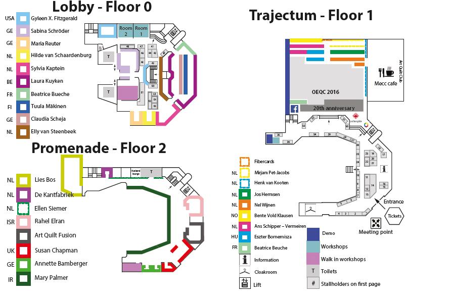 plattegrond OEQC 207