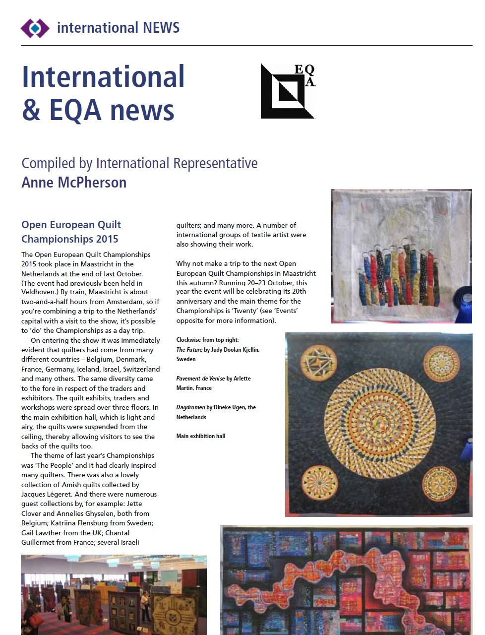 International Quilt News - Issue 147