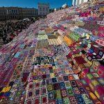 De grootste gehaakte deken